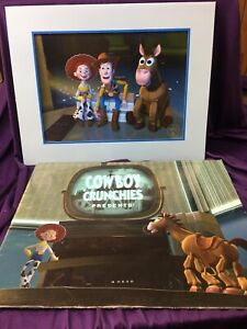 Walt Disney's Toy Story 2 Exclusive Commemorative Lithograph NEW 2000 $19.88