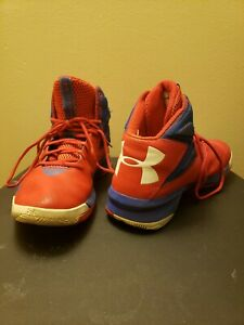 Under Armour Rocket Red Micro G Mens Basketball Shoes Size 9.5 $19.00
