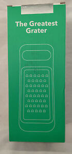 Cheese Grater-The Greatest Grater-w/Storage-4 Different Grates-VREMI - New!