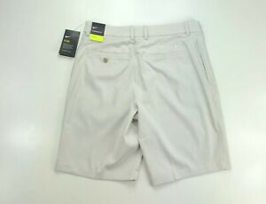 Nike Golf Men Flex Core Dri Fit Beige Casual Shorts $65 AJ5493 072 $34.99