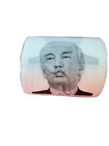 Donald Trump Toilet Paper Novelty Party Gag Gift Prank Humor Joke Roll Smile