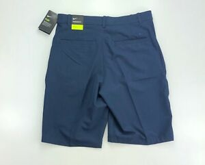 Nike Golf Flex Hybrid Blue Dri Fit Casual Shorts $65 AJ54995 451 $39.99