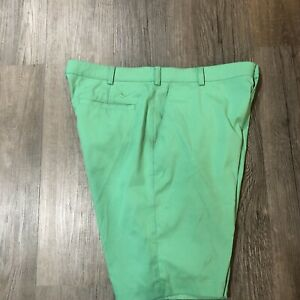 "Nike Golf Mens Green Golf Shorts Size 36 Dri Fit 11"" Inseam $16.50"