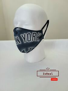 New York Yankees Face Mask New York logo