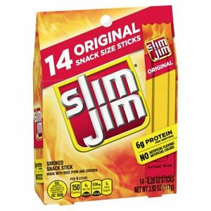 Slim Jim Original 120 ct. FREE SHIPPING