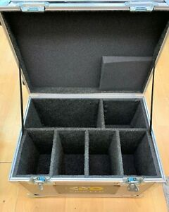 Kino Flo FreeStyle Systems 6 compartment hard Case with Wheels Black $319.99