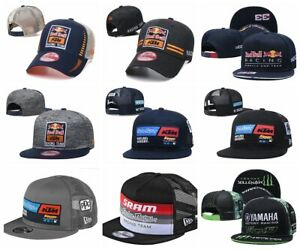 Embroidered KTM MOTO GP Hat Motorcycle Baseball Cap Snapback Racing Caps $12.99