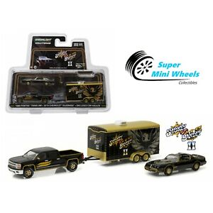 Greenlight 1:64 Hitch amp; Tow Hollywood Smokey amp; The Bandit II 31010 B 3 Piece Set