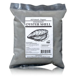 Oyster Shell Powder Organic Ground Oyster Shell for Chickens and Plants 5lbs