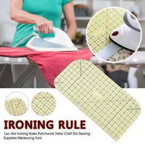 Hot Ironing Ruler Patchwork Tailor Craft Diy Sewing Supplies Measuring Tool Rule GBP 4.99