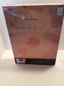 The Lion King Deluxe Video Collectors Edition VHS tapes and lithographs $30.00