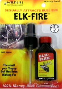 Wildlife Research Center 455 Elk Fire Cow Elk Scent Hunting with pump sprayer