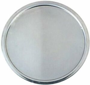 Metalcraft Series 18 Gauge Aluminum Weight Rim Pizza Pan 16 Inch Silver
