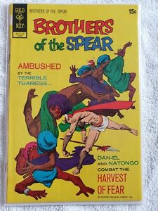 RARE Comic Book Lot BROTHERS OF THE SPEAR High Grade Gold Key 7 books
