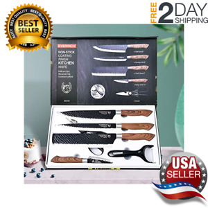 Professional Chef Knife Set High Carbon Stainless Steel Vegetable Knife Gift Box