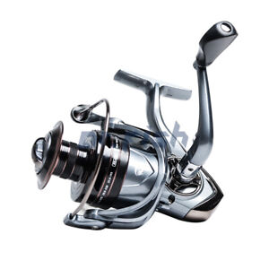 Dr.fish Spinning Reel 1000 6000 CNC Aluminum Handle 51BB Catfish Fishing