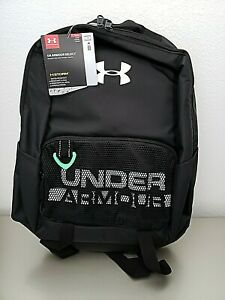 Under Armour Youth Armour Select Backpack Black 001 White One Size Fits all $30.00