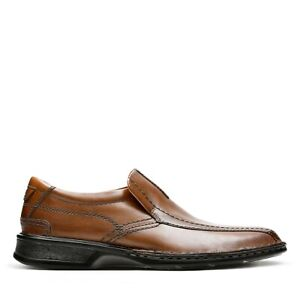 Mens Clarks Escalade Step brown shoes 3 sizes sold nationally for $80 new box $29.95
