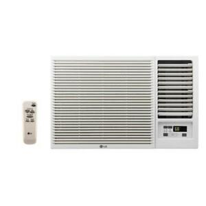 LG LW8016HR 8000 BTU 110V Window A C w Heat: Remote amp; Window Vent Kit Incl.