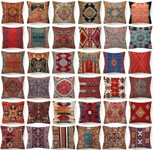 18x18 PILLOW COVER Tapestry Rug DIGITAL PRINT Decorative 2 Sided Cushion Case