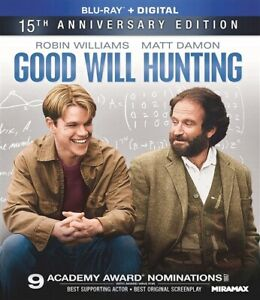 GOOD WILL HUNTING New Sealed Blu ray 15th Anniversary Edition