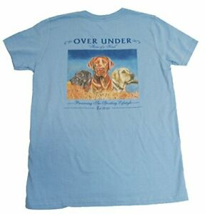 Over Under Youth Three of A Kind T Shirt ym Sky Blue $24.99