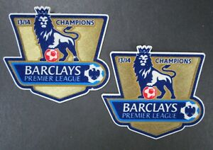 13 14 BARCLAYS PREMIER LEAGUE CHAMPIONS x2 ARM PATCHES = REPLICA SIZE