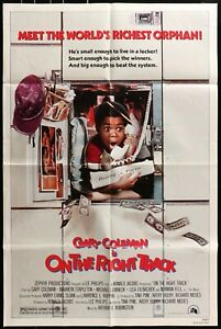 GARY COLEMAN ON THE RIGHT TRACK 1981 Original FF 1 Sheet Movie Poster 27 x 41