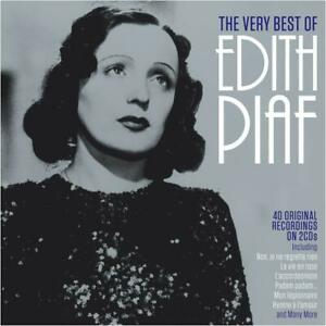 Edith Piaf VERY BEST OF 40 Original Recordings ESSENTIAL COLLECTION New 2 CD