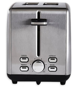 Professional Series 2 Slice Stainless Steel Wide Slot Toaster $24.50