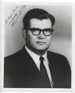 Laurence J. Peter Signed 8x10 Photo Autographed Signature Author Educator $45.00