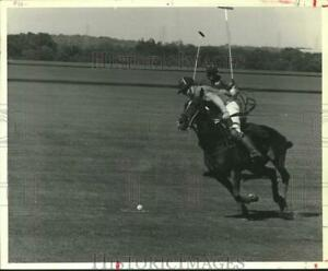 1980 Press Photo Top US player Red Armour on Houston polo team for semi finals $14.99