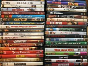 DVDS Movies PICK and CHOOSE From 300 Action Drama Comedy Combined Ship