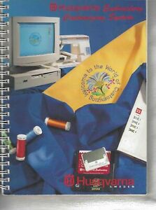 Husqvarna Viking Machine Embroidery Book Customizing System Softcover 128 Pages $15.95
