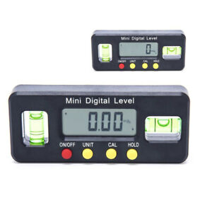 Digital Inclinometer 4*90° Protractor Angle Finder Level Box Bevel Gauge Magnet $16.99