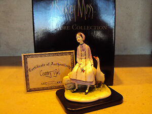 P.Buckley Moss' quot;Country Girlquot; Porcelain Sculpture*New in box with COA $99.00
