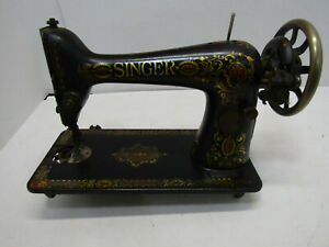 OLD CAST IRON SINGER TREDDLE SEWING MACHINE #6226456S PART $79.99