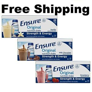 Ensure Original Nutrition Meal Replacement Shakes 9g of Protein 8 fl oz 24 ct $40.75