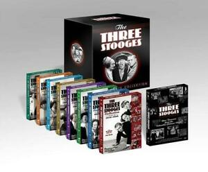 The 3 Three Stooges Complete TV Series Ultimate Collection Anthology NEW DVD SET