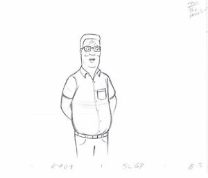 King of the Hill Original Animation Production Cel Drawing Fox 267 $64.99