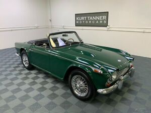 1967 Triumph TR4 1967 TRIUMPH TR4A. BRITISH RACING GREEN.