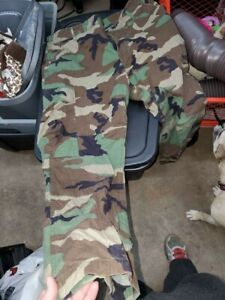 Army ACU and BDU camo items military used