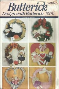 BUTTERICK 5676 HOLIDAY KIDS SEWING PATTERN VINTAGE $2.99