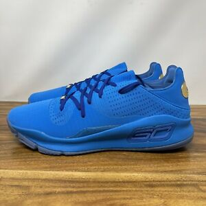 Under Armour Curry 4 Low Tb Blue 3021707 405 Limited Rare Sz 17 $300.00
