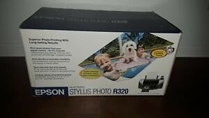 NEW amp; FACTORY SEALED Epson Stylus Photo R320 Ink Jet Printer $270.00