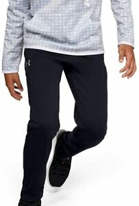 New Under Armour Boys Armour Fleece Pants Size X Small Black 1329485 $24.08