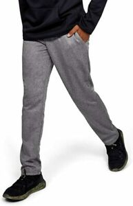 New Under Armour Boys Armour Fleece Pants Size Small Grey 1329485 $28.90