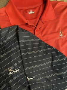 LOT OF 2 NIKE GOLF Fit Dry amp; Under Armour POLO SHIRTs MENS SIZE XL $28.99