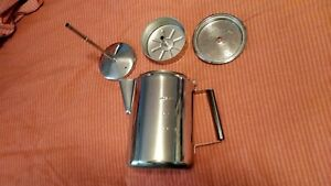 Coffee Maker Stovetop 9 Cup Camp Coffee Pot Percolator Stainless Steel $27.75