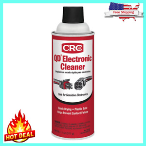 Quick Dry Electrical Contact Spray Electronic Cleaner 11 Oz Quick Drying NEW $7.49